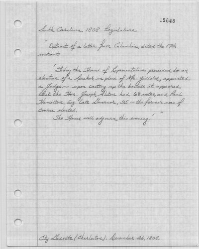 handwritten notes
